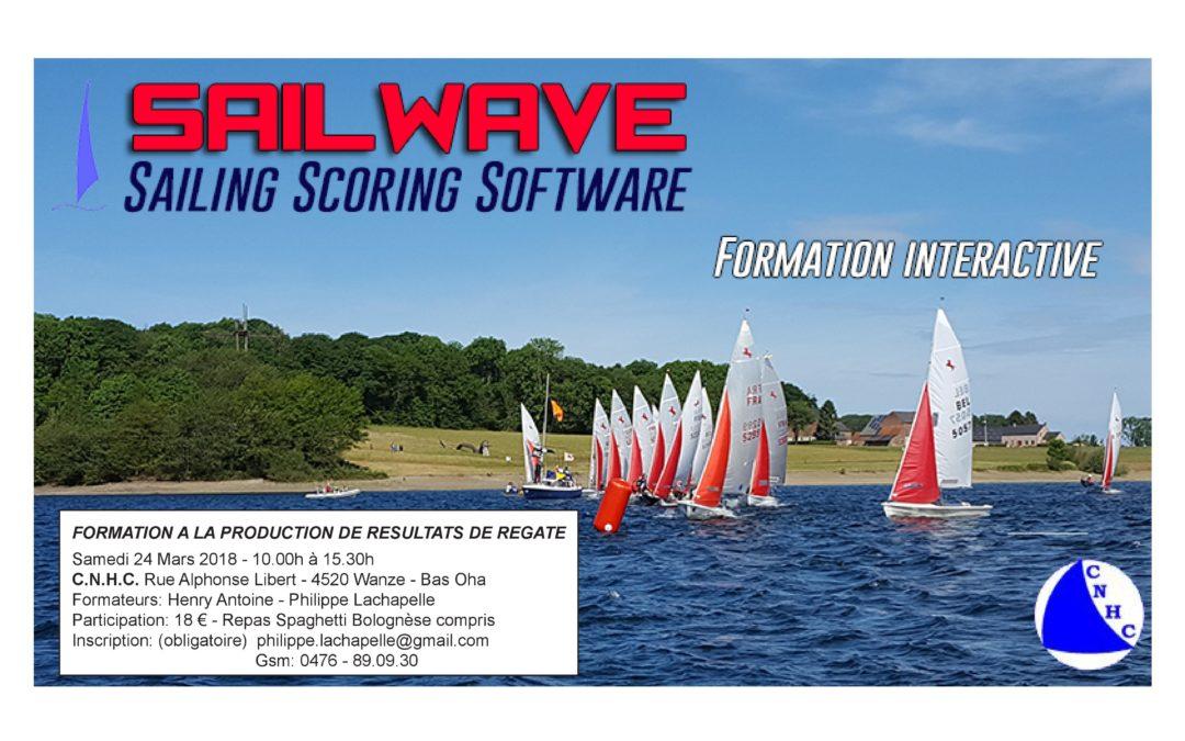 Formation Sailwave au CNHC