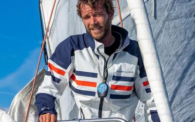 Sailing Gaëtan Thomas, membre du Bruxelles Royal Yacht Club vise The Race Around (été 2023) après sa tentative du record autour du monde en Class40!