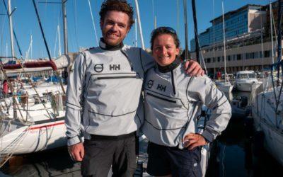 Sophie Faguet et Jonas Gerckens à la tête des Red Dolphins pour l'Européen et le Mondial 2021 – Course au large en double mixte