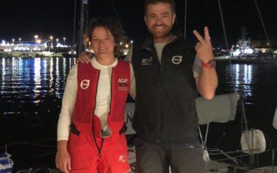 Les Red Dolphins – 2 ème lors de la première manche de l'euro de course au large