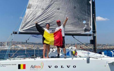 Médaille d'argent pour les Red Dolphins à l'euro de course au large en double mixte
